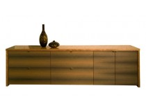 Credenza with Doors and Drawers
