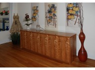 Large Buffet with Storage & Finished Back